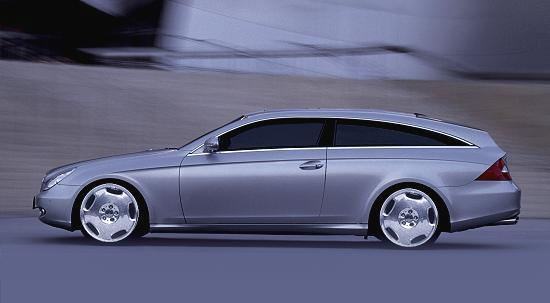 our photoshop of a CLS Shooting Brake