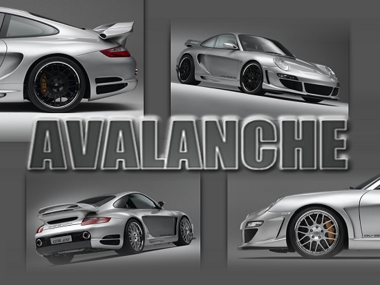 GTR 650 Avalanche: Porsche 911 (997) by Gemballa - click for wallpaper one