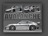 GTR 650 Avalanche: Porsche 911 (997) by Gemballa - click for wallpaper two