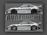 GTR 650 Avalanche: Porsche 911 (997) by Gemballa - click for wallpaper three