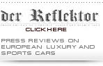 der Reflektor - press reviews on European luxury and sports cars.