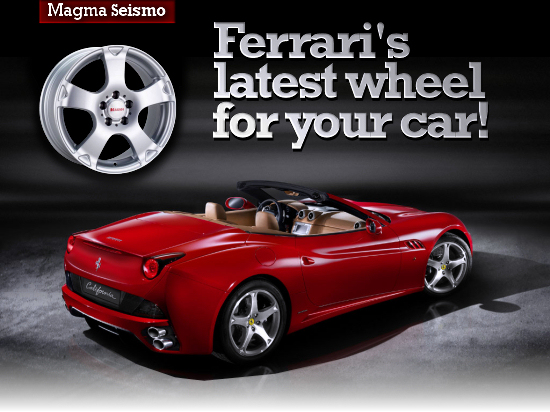 New Ferrari California & Magma Seismo