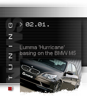 Lumma Hurricane basing on the BMW M5