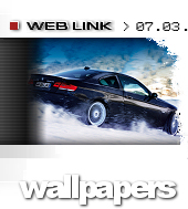 Alpina have updated their website, including cool wallpapers