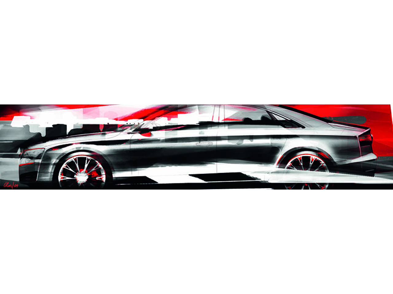 Fast Zi Nation 2010 Audi A8 Artwork