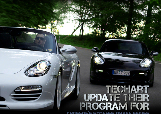 2010 Porsche Boxster and Cayman by TechArt