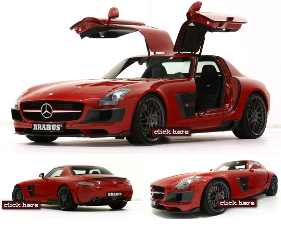 Mercedes SLS AMG Wide Body by Brabus