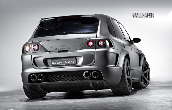 Gemballa Tornado 750 GTS basing on the Porsche Cayenne