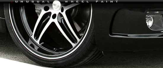 Hamann wheel with painted dish