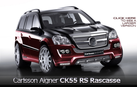 Carlsson Aigner CK55 RS basing on the Mercedes-Benz GL 500