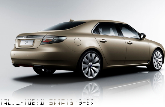 All-new SAAB 9-5