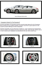 Cargraphic Wheels for the Porsche Panamera