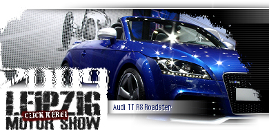 Leipzig Motor Show 2009 - Click here to see the latest feature