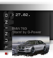 BMW 760i Storm by G-Power